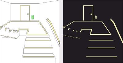 Egress exit-path-marking